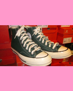 Midnight Clover Green Converse 70's Hi