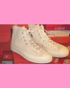 Natural White Converse 70's Hi