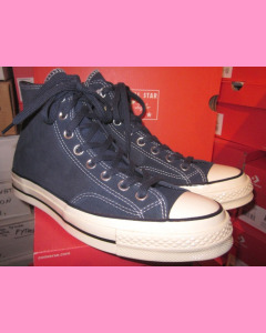 Obsidian Leather Converse 70´s All Star Hi Chuck Taylor