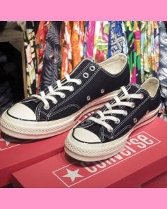 Black 70´s All Star Ox Converse