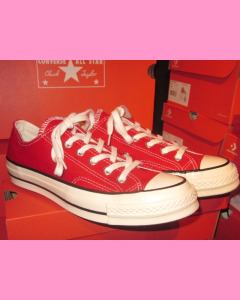 Enamel Red 70´s All Star Ox Converse