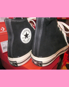 Black Suede 70´s All Star Hi Chuck Taylor