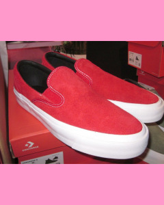Enamel red Converse 70´s One Star Slip Ons