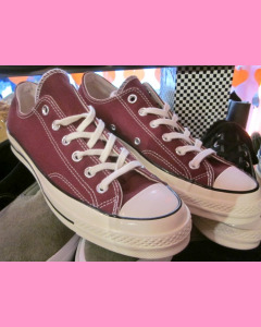 Dark Burgundy 70´s All Star Ox Converse
