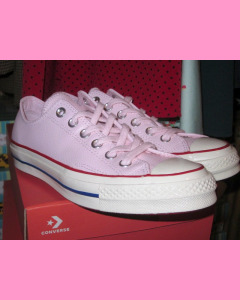 Pink Leather Converse 70´s All Star Ox