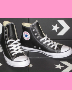 Black Leather 90´s Evergreen All Stars Converse