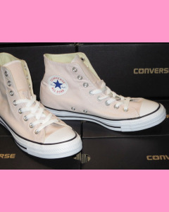 Barely Rose Converse All Star Hi