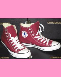 Maroon Converse Chuck Taylor All Star Hi 90´s Evergreen
