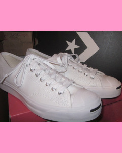 White Jack Purcell Ox Converse
