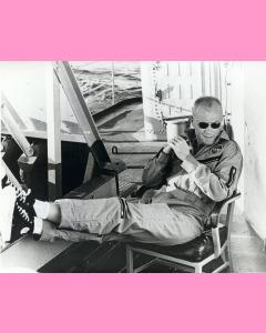 Astronaut John Glenn wearing Converse