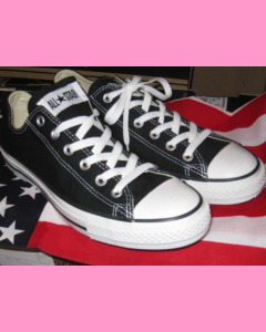 Black Converse All Star Ox