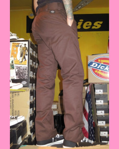 Chocolate Dickies `67 Industrial Work Pants