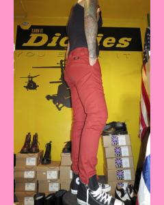 Brick Dickies Slim Skinny 803 Work Pants