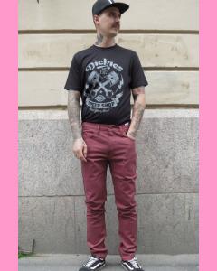 Oxblood Dickies Slim Skinny 810 Pants