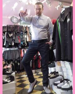 Dark Navy Dickies Slim Fit 872 Work Pants