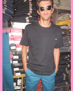 Coral Blue 873 Slim Straight Dickies Work Pants