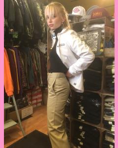 Khaki Dickies 874  Ladies Work Pants