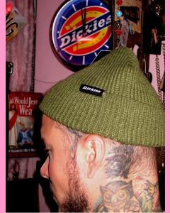 Army Green Dickies Woodworth Beanie