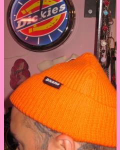 Brght Orange Dickies Woodworth Beanie