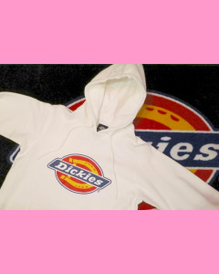 White Dickies Nevada Hood