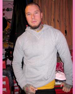 Grey Melange Dickies Philadelphia Hood