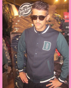 Black and Green Dickies Adairville Jacket