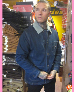 Blue Denim Dickies Chore Jacket