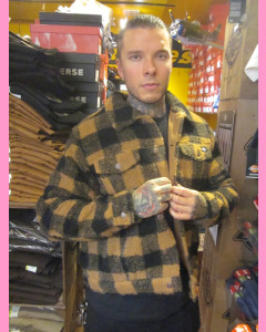 Brown Duck Dickies Sherpa Trucker Jacket