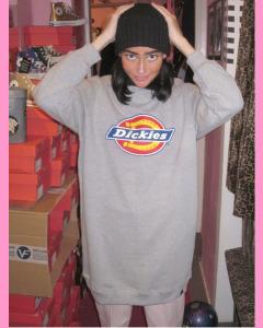 Grey Melange Benham Sweatshirt