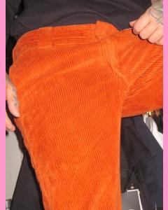 Rust Corduroy Dickies Cloverport Work Pants