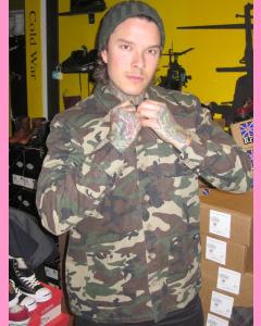 Camouflage Dickies Kempton Shirt