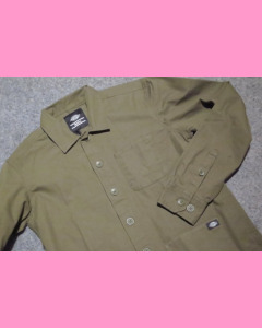 Dark Olive Dickies Kempton Shirt