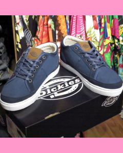 Navy blue Dickies New Jersey Low Canvas Shoe