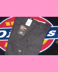 Black Dickies 13 Inch Shadow Stripe Shorts