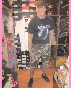 Camouflage Dickies New York Shorts