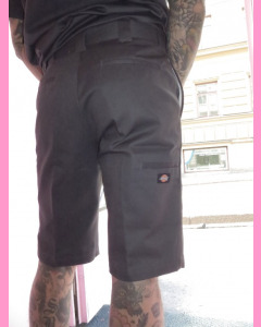 Charcoal Dickies Slim Work Shorts