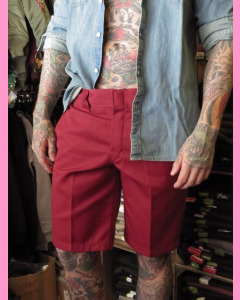 Aged Brick Dickies Slim Straight Work Shorts