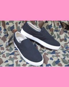 Black Dickies Kansas Slip On Shoes