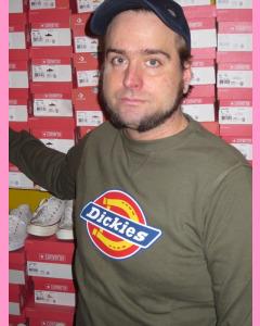 Dark Olive Dickies Harrison Sweatshirt