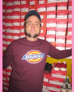 Maroon Dickies Harrison Sweatshirt