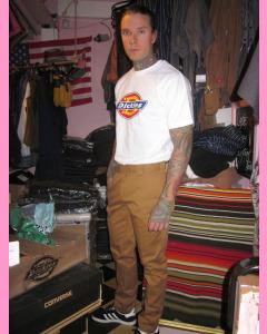Brown Duck Dickies Slim Fit 872 Work Pants