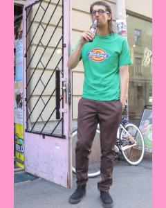 Chocolate brown Dickies Slim Fit 872 Work Pants