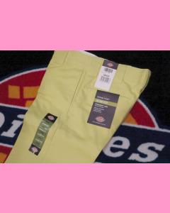 Duck Yellow Dickies Slim Straight 873 Work Pants