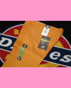 Energy Orange dickies Slim Straight 873 Work Jeans