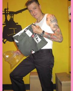 Black Dickies Slim Straight 873 Work Pants