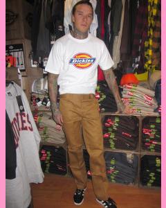 Brown Duck Dickies Slim Straight 873 Work Pants