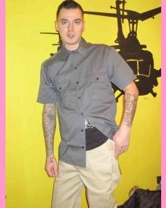 Khaki Dickies Slim Straight 873 Work Pants