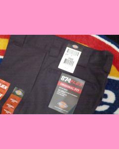 Black Dickies 874 Flex Work Pants