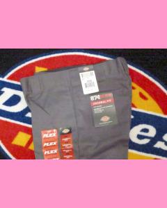 Charcoal Dickies 874 Flex Work Pants