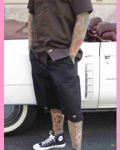 Black Dickies Multi Pocket Work Shorts